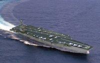 미 해군의 제럴드 포드급 신형 항모 사진 화제