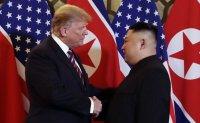 Trump: 'very positive' correspondence recently with N. Korea