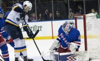 Blues beat Rangers 3-1 for 8th straight victory