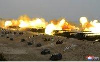 North Korean leader supervises joint strike drill
