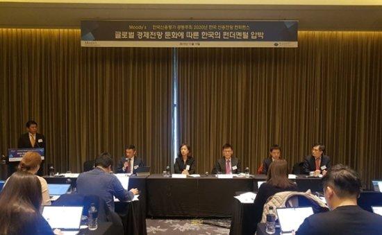 Moody's denies Seoul's rosy economic outlook
