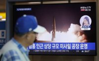 Cheong Wa Dae calls NK missile firing 'show of force' against S. Korea-US military drill