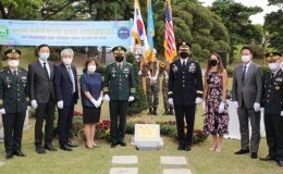 Monument set up to honor West Point graduates killed in Korean War