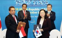 South Korea, Indonesia boost defense industry cooperation on ASEAN summit