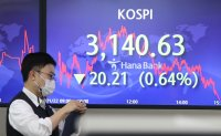 Seoul stocks snap 3-day winning streak on valuation pressure