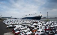 Korea's auto exports down 3.3% in March