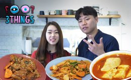 [3 THINGS SERIES] 3 EASY-to-follow KOREAN Home Meal [VIDEO]