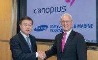 Samsung buys stake in Lloyd's insurer Canopius