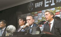 S. Korea men's, women's football coaches set sights on winning regional title