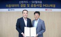 Big data partnership between Shinhan, SKT