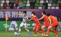 Heartbreak but encouragement for Korean women's football team