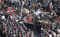 Myanmar under pressure at UN as anti-coup protests rage nationwide