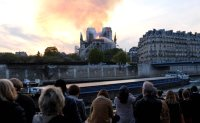 Fire ravages Notre Dame Cathedral, spire collapses