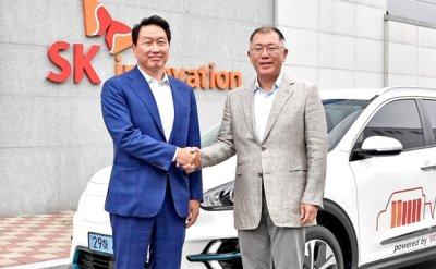 SK, Hyundai strengthen partnership in electric vehicle batteries