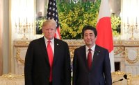 Trump and Abe at odds over North Korea missile tests
