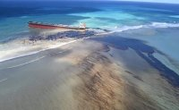 Mauritius declares emergency over oil spill