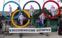 Rights groups urge world leaders to boycott Beijing Olympics