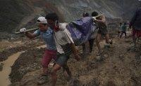 Landslide at Myanmar jade mine kills at least 162 people