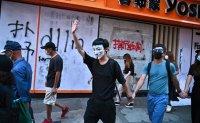 Hong Kong lawmakers challenge mask ban as protests persist