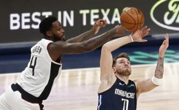 Leonard scores 36 to lead Clippers past Mavericks 110-107
