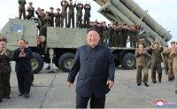 North Korea's Kim oversaw test of multiple rocket launcher: KCNA