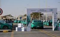 Sonata taxis hit right note in Saudi Arabia