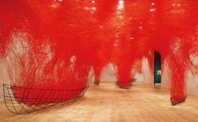 Chiharu Shiota explores uncertainty of life in Busan