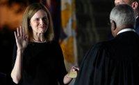 Barrett sworn in as US Supreme Court justice