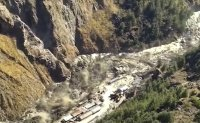 Himalayan glacier breaks in India, up to 150 feared dead in floods