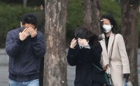 Strong wind alerts issued for most parts of South Korea