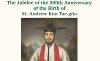 Catholic Church starts celebrations for bicentenary of first Korean-born priest St. Andrew Kim Tae-gon