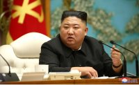 North Korean leader oversees politburo meeting to launch campaign for economic development