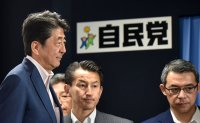 Abe's party fails to secure seats to propose constitutional revisions