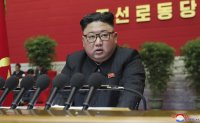 North Korea's leader vows to improve ties with outside world