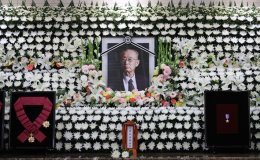 Controversy rising over burial of late general at national cemetery