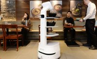 LG joins with Woowa, agency to develop robot waiters