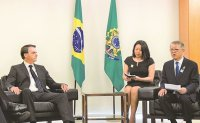 SK Networks chief meets Brazil's President to bolster ties