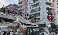 At least 22 dead, buildings collapse as major quake hits Turkey, Greece