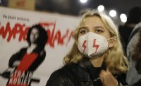 Tens of thousands hold new protest over abortion ban in Poland