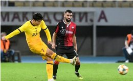 Son shines again to lift Tottenham against Shkendija 3-1 in Europa