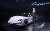 Porsche Taycan lands in Korea