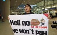 Activists up in arms against US call for higher USFK bill