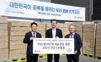Mercedes, BMW show stark contrast in dividends, CSR in Korea