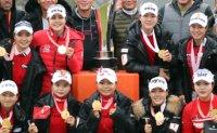 Team KLPGA routs Team LPGA at Orange Life Champions Trophy Park In-bee Invitational