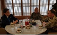 Cheong Wa Dae holds 'in-depth discussion' with USFK commander