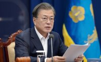 Moon reaffirms Korea's commitment to achieving carbon neutral by 2050