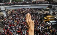 Protests growing against Myanmar coup