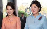 First ladies of two Koreas meet for first time