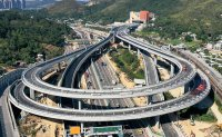 New road linking Hong Kong with China to open this month