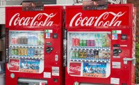 Gov't leads in recycling vending machines, large drinks coolers